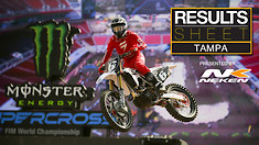 Results Sheet: Tampa Supercross