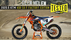 FIRST IMPRESSION: 2020.5 KTM 450 SX-F Factory Edition