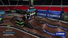 Atlanta Supercross - Animated Track Map