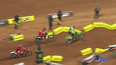 Eli Tomac vs. Justin Barcia - Atlanta Supercross