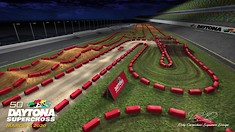 Daytona Supercross - Animated Track Map