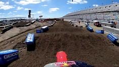 Onboard: Ken Roczen - Daytona SX Track Preview