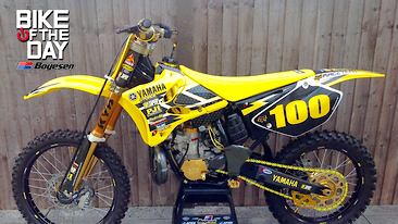 Bike Of The Day: 2003 Yamaha YZ250