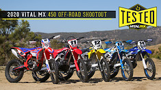 2020 Vital MX 450 Off-Road Shootout