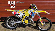Bike Of The Day: 2006 Suzuki RM250