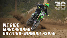 We Ride Marchbanks' Daytona-Winning KX250