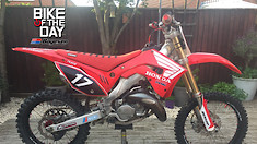 Bike Of The Day: 2007 Honda CR125