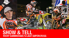 Show & Tell: Ricky Carmichael's Last Supercross