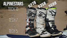 Alpinestars Tech 10 vs. Tech 7 vs. Tech 5