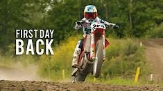 First Day Back - Glenn Coldenhoff