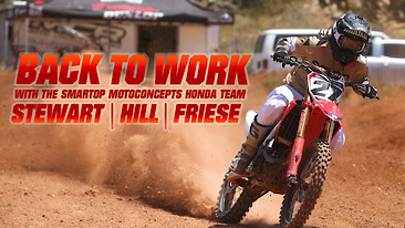 Back To Work: Stewart | Hill | Friese