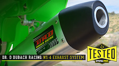 Tested: Dr. D NS-4 Full Exhaust System SS/AL KX250