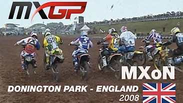 FIM Motocross des Nations History | MXdN 2008 (England)