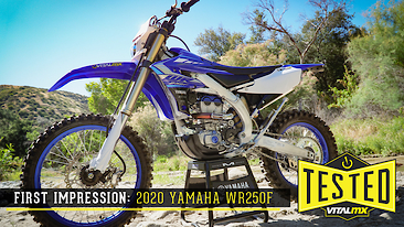 Bike Test: 2020 Yamaha WR250F