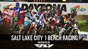 Salt Lake City 1 Supercross - Afternoon Program Bench Racing
