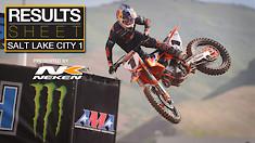 Results Sheet: Salt Lake City 1 Supercross