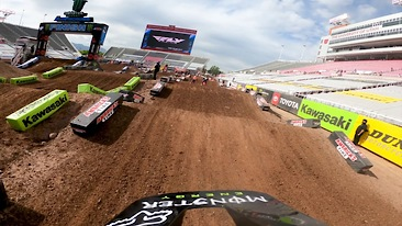 Onboard: Adam Cianciarulo - Salt Lake City 1 SX Track Preview
