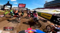 Onboard: Ken Roczen - Salt Lake City 1 Supercross