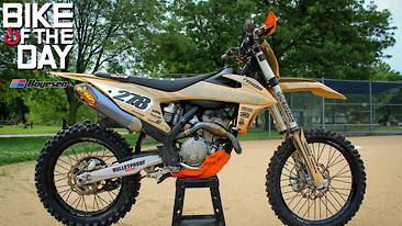 Bike Of The Day: 2019 KTM 350 SX-F
