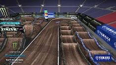 Salt Lake City 2 Supercross - Animated Track Map