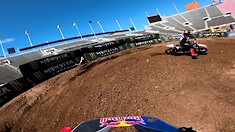 Onboard: Ken Roczen - Salt Lake City 2 SX Track Preview