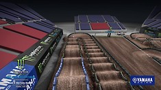 Salt Lake City 3 Supercross - Animated Track Map
