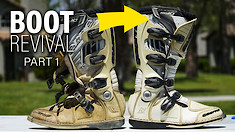 Motocross Boot Revival Part 1: How To Clean MX Boots