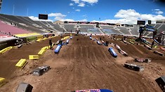 Onboard: Ken Roczen - Salt Lake City 6 SX Track Preview