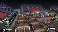 Salt Lake City 7 Supercross - Animated Track Map
