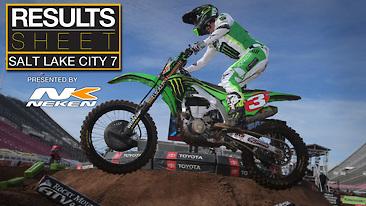 Results Sheet: Salt Lake City 7 Supercross
