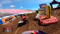 Onboard: Ken Roczen - Salt Lake City 7 Supercross