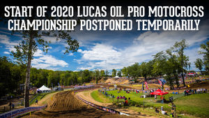 Start of 2020 Motocross Championship Postponed Indefinitely