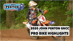 John Penton GNCC Pro Bike Highlights