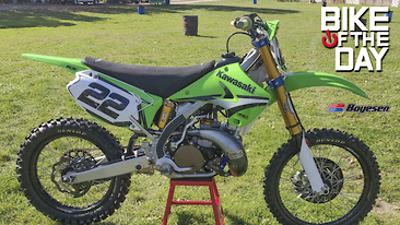 Bike Of The Day: 2005 Kawasaki KX250