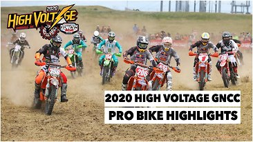 High Voltage GNCC Pro Bike Highlights