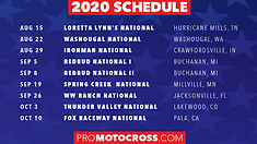 Nine-Round Lucas Oil Pro Motocross Championship Announced
