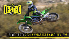 Bike Test: 2021 Kawasaki KX450 Review
