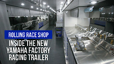 Inside The New Yamaha Factory Racing Trailer