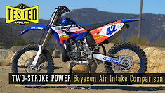 Two-Stroke Power | Boyesen Air Intake Comparison