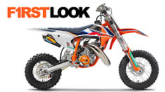 First Look: KTM 50 SX Factory Edition
