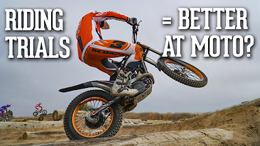 Riding Trials = Better At Motocross?
