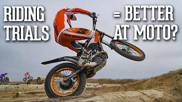 Riding Trials = Better At Motocross?