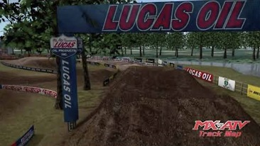 Animated Track Map: Loretta Lynn's National 1