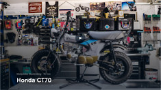 Rebuilding a Honda CT70 Minibike | Bike Builds with Aaron Colton