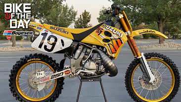 Bike Of The Day: 1993 Suzuki RM250