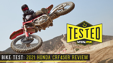 Bike Test: 2021 Honda CRF450R Review