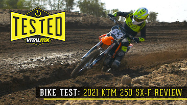 Bike Test: 2021 KTM 250 SX-F Review