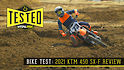 Bike Test: 2021 KTM 450 SX-F Review
