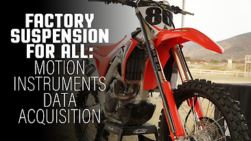 Factory Suspension For All: Motion Instruments Data Acquisition