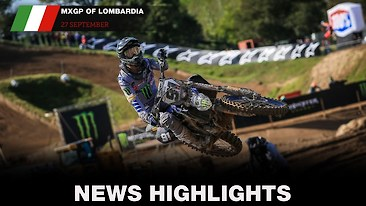 Video Highlights: MXGP of Lombardia